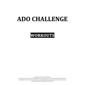 2018 Spring Challenge Workouts