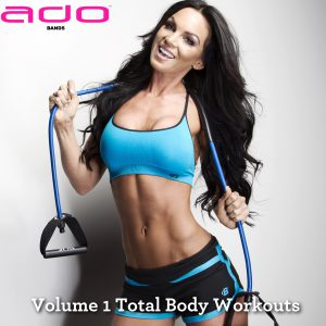 Volume 1 Total Body Resistance Band Set Beginner Workouts
