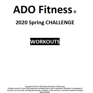 2020 Spring Challenge Workouts