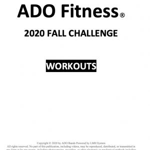 2020 Fall Challenge Workouts